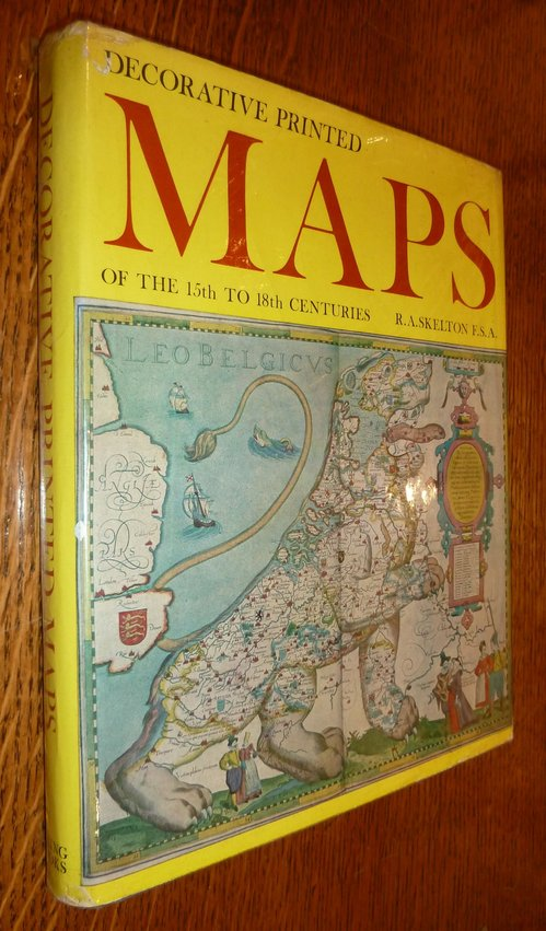 Decorative Printed Maps