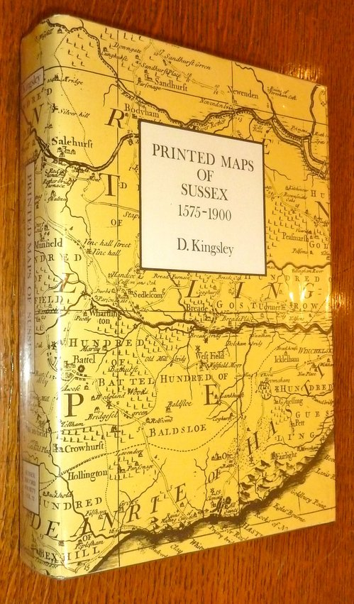 Printed Maps of Sussex 1575 - 1900