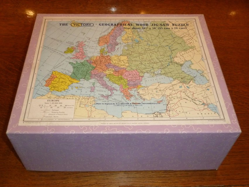 Victory Jigsaw Puzzle Europe 1977