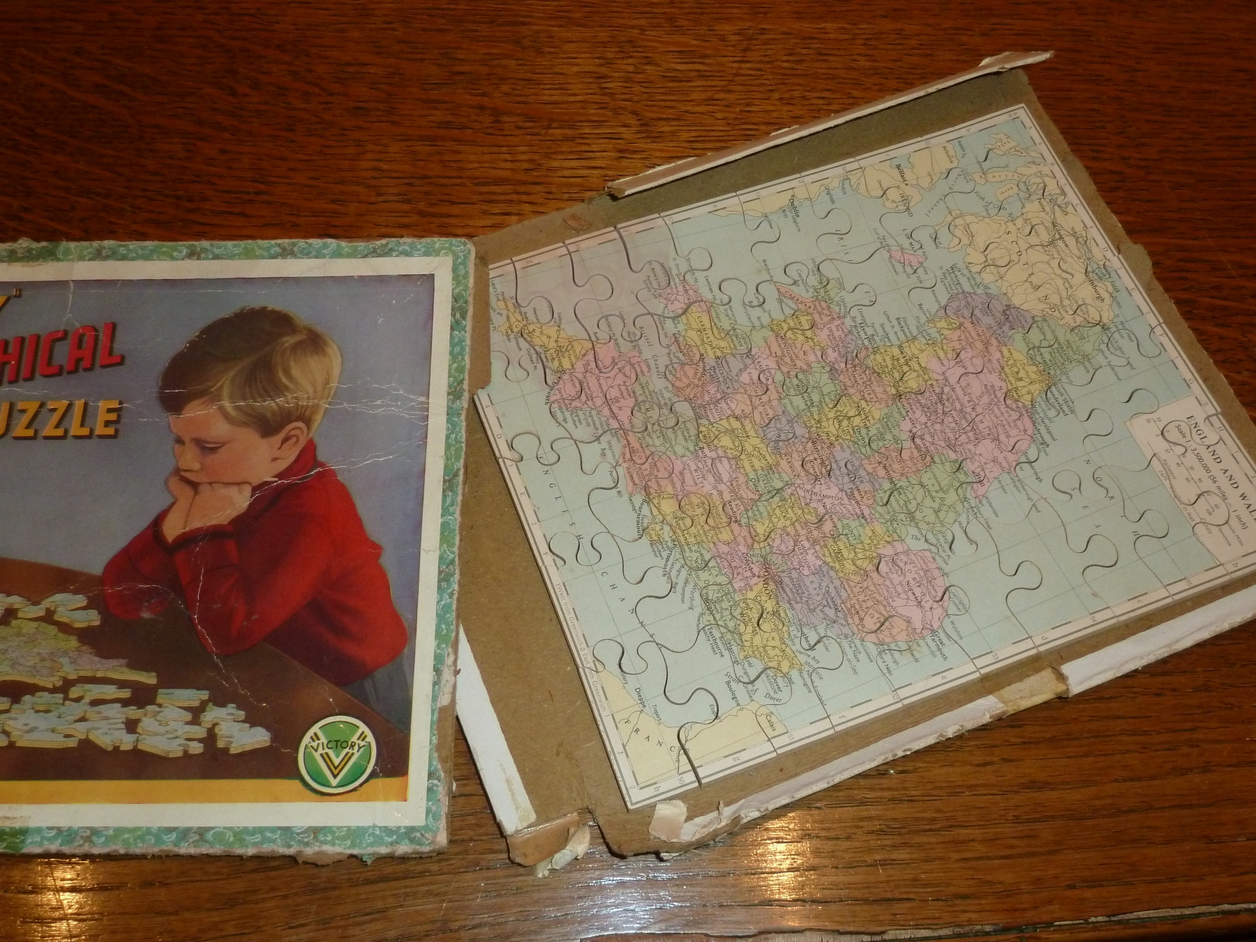 Jigsaw Puzzle England and Wales