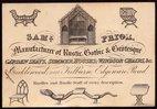 Samuel Prior. Trade card. 1840