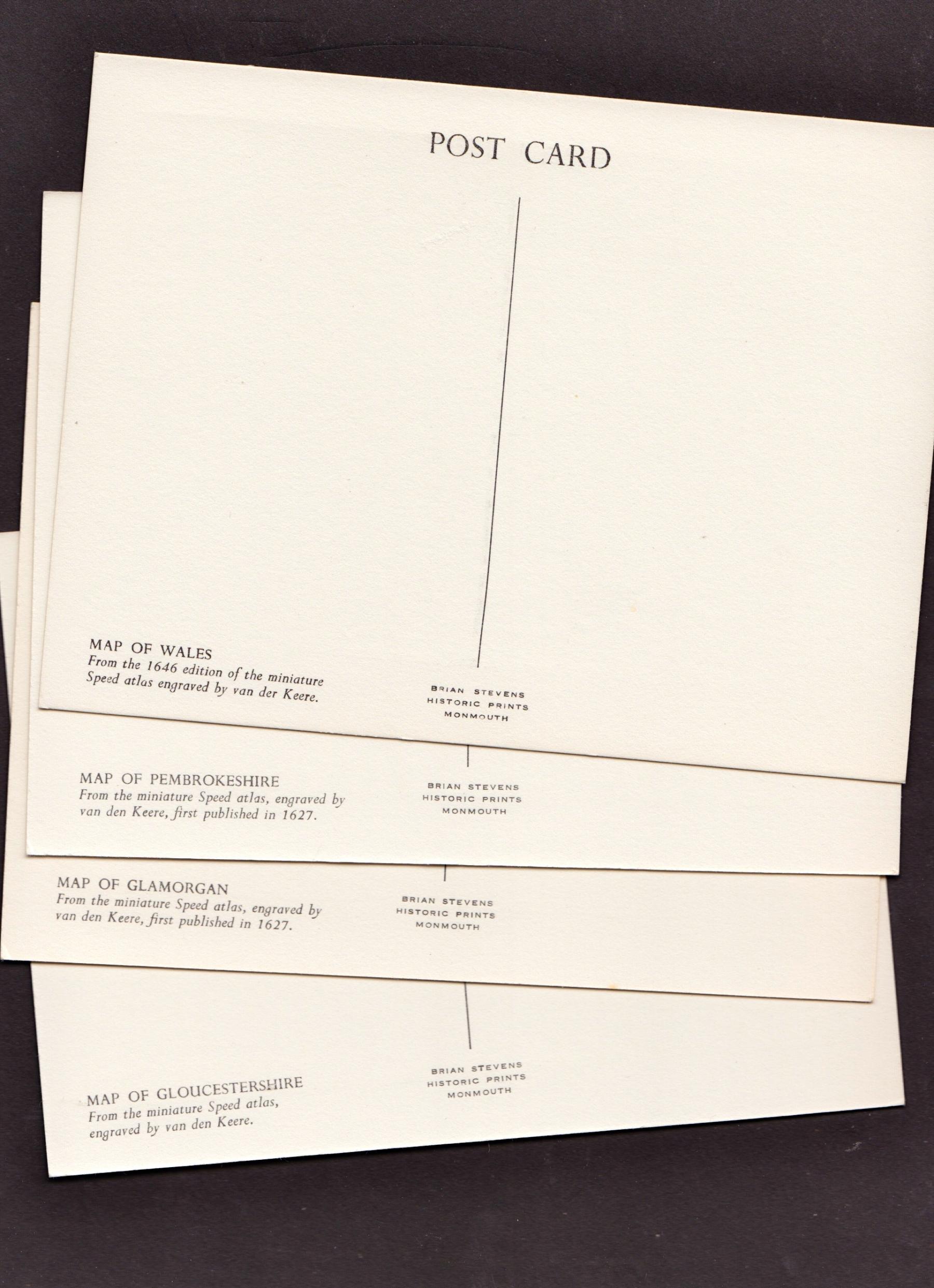 4 Postcards Van den Keere