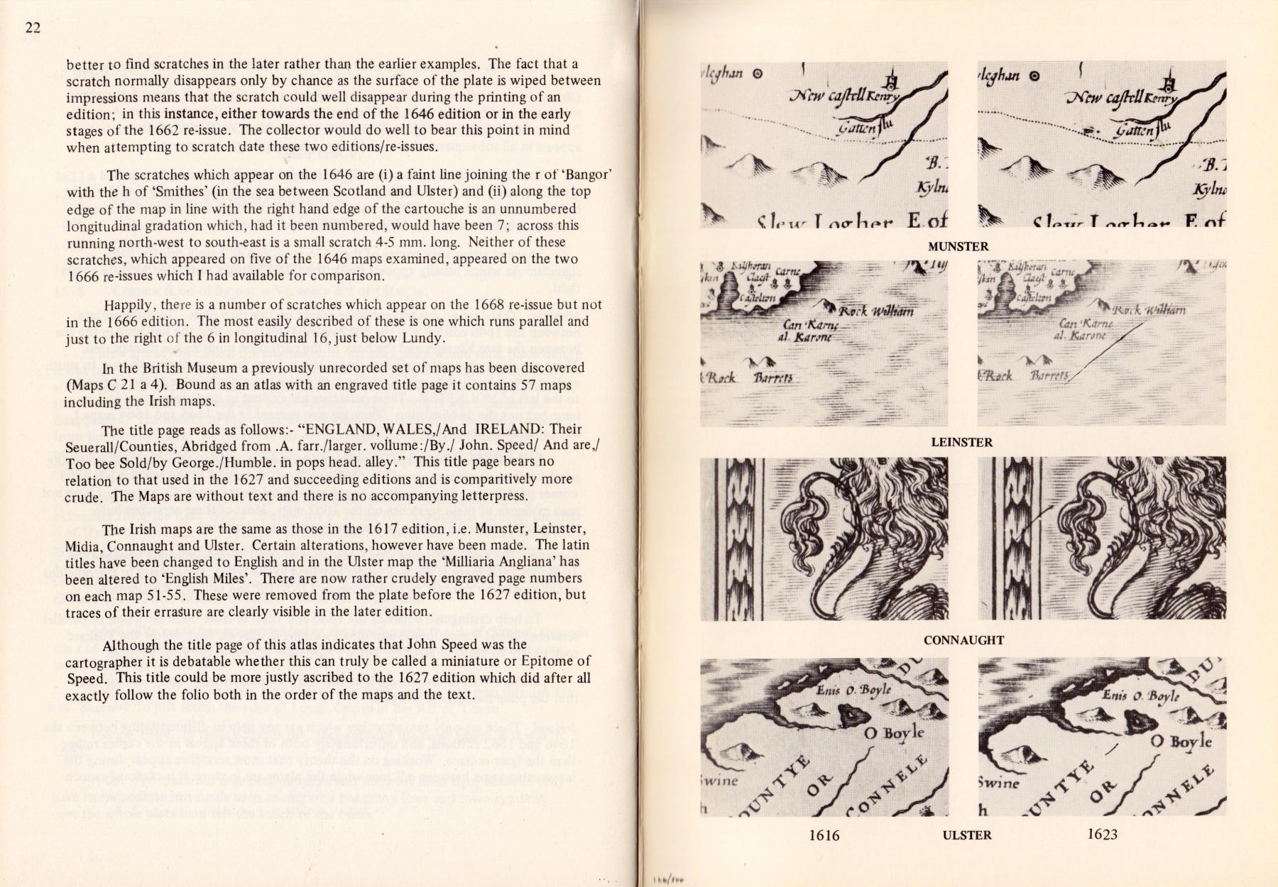 John Speed Maps of Ireland