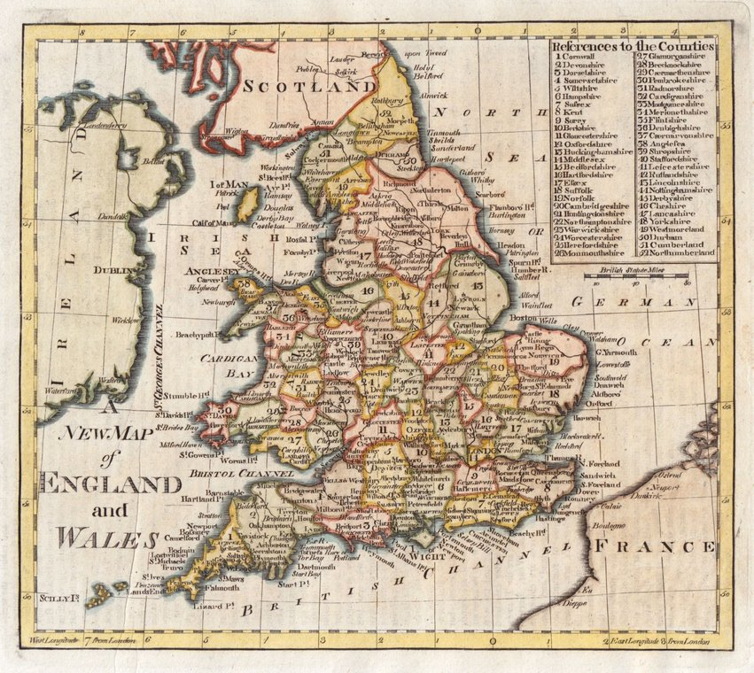 Map Of England Vintage.England Wales Antique Maps Old Maps Of Wales Vintage Maps Of