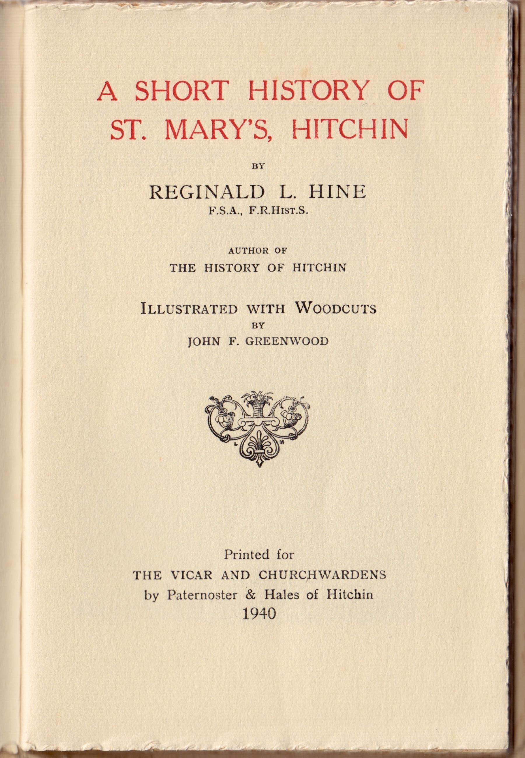 St. Mary's Hitchin