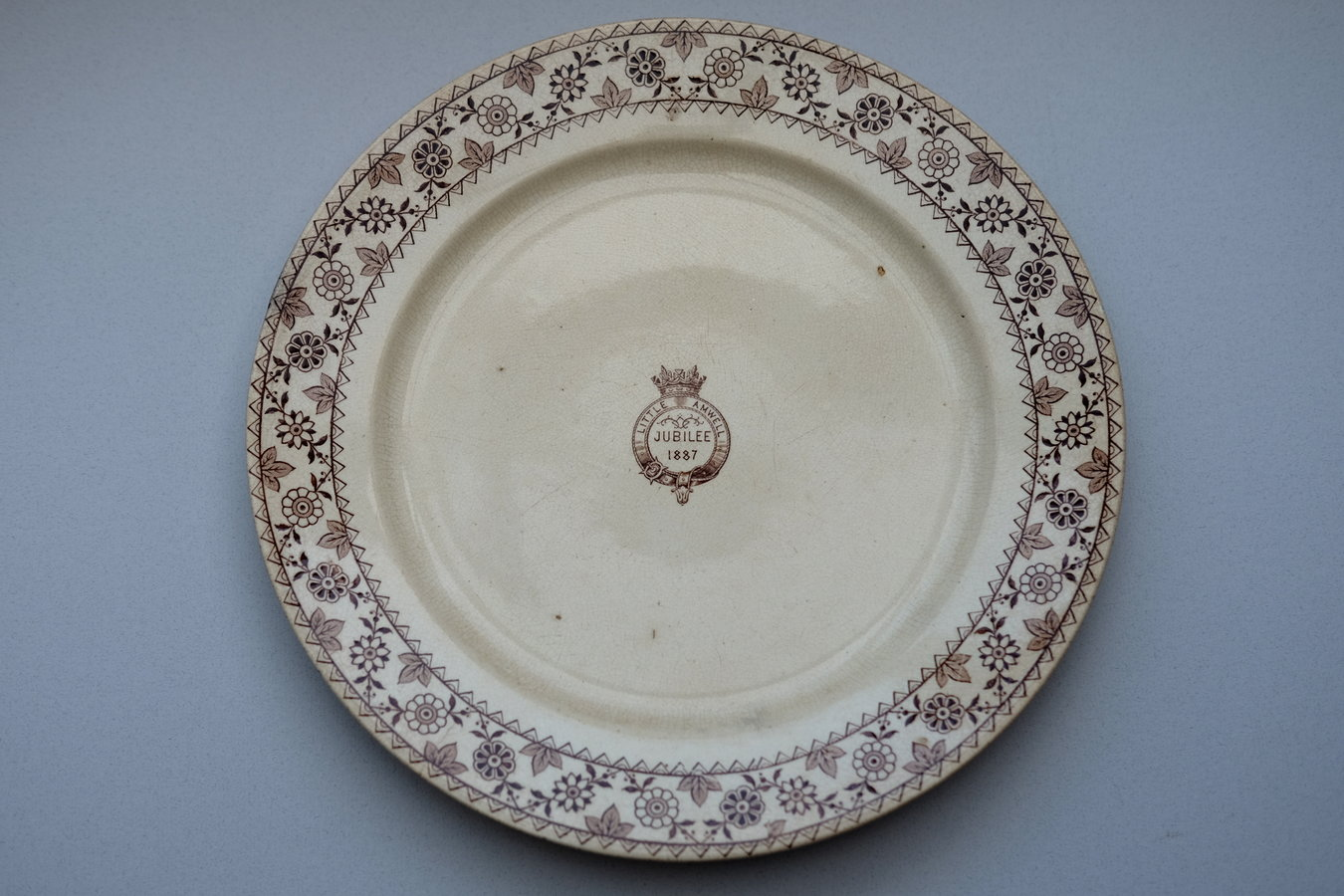 Little Amwell Golden Jubilee Plate