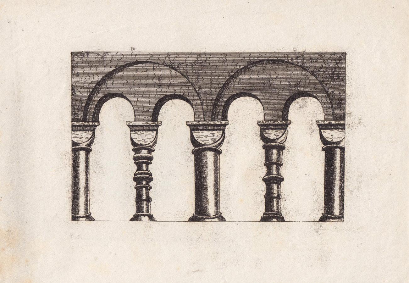 St Albans Abbey Transcept Balusters