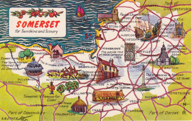 Somerset Postcard