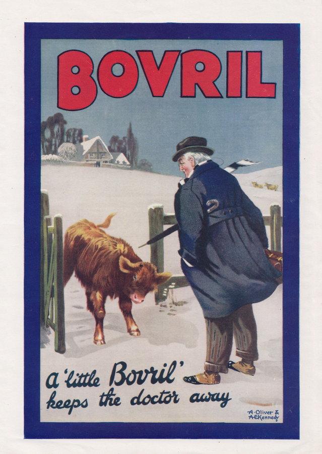 Advert. Bovril