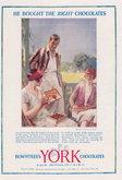 Advert. Post Toasties & Rowntrees