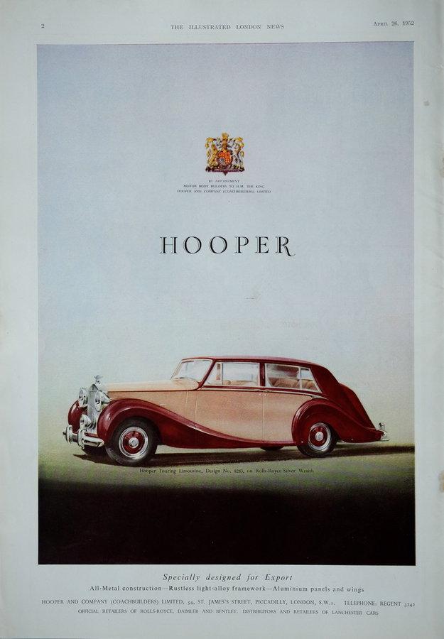 Advert. Rolls Royce.