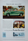 Advert. Lanchester & Number 7