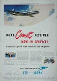 Advert. Comet Jetliner