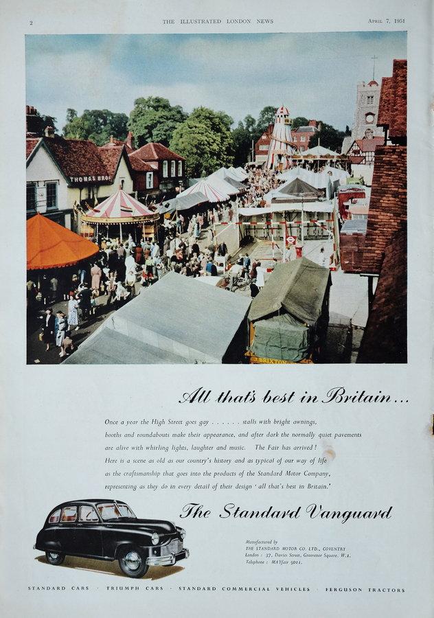 Advert. Vanguard