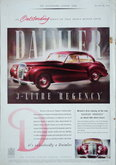Advert. Daimler Regency