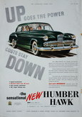 Advert. Humber Hawk
