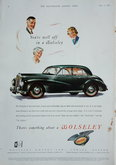 Advert. Wolseley Six Eighty