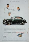 Advert. Wolseley Six Eighty