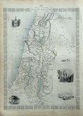 Ancient Palestine by Rapkin