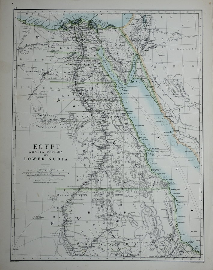 Egypt and Arabia by Johnston