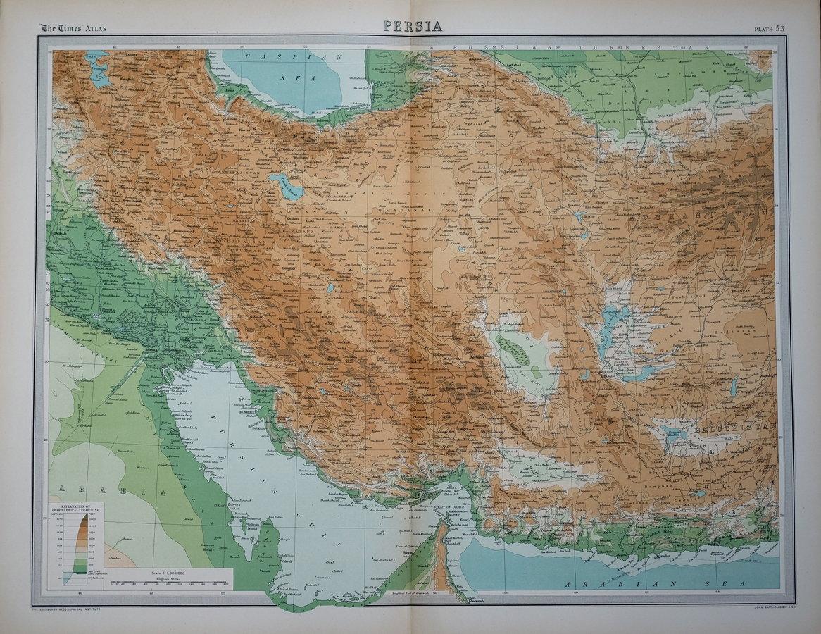 Iran by Bartholomew