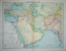 South West Asia by Bartholomew