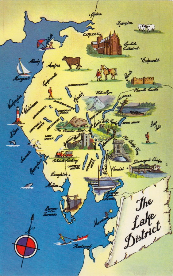 Lake District Postcard