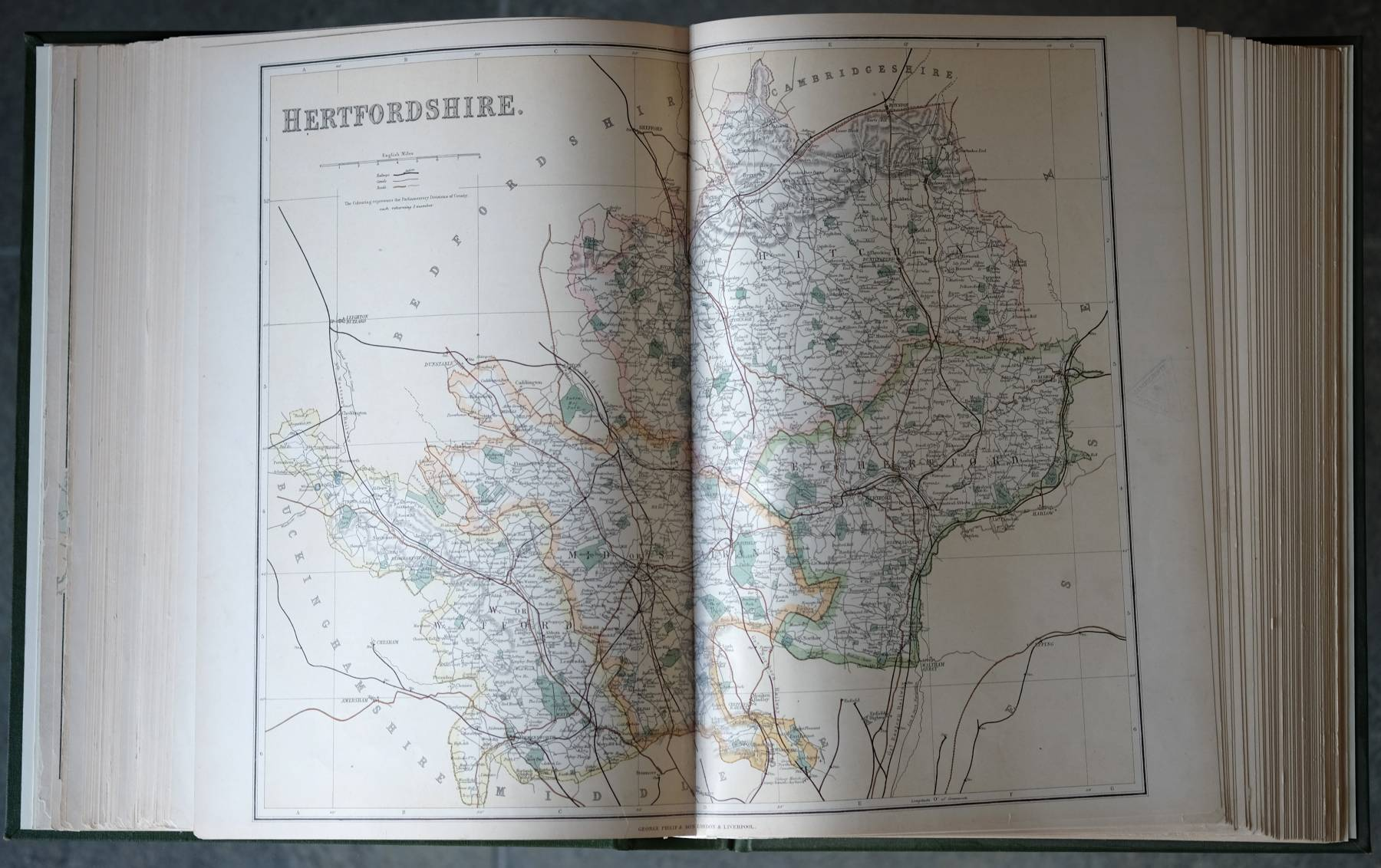 Philip's Atlas of the Counties of England