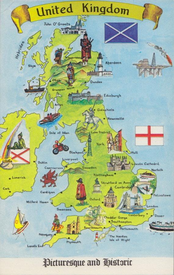 Britain Postcard
