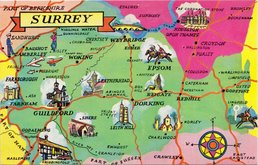 Surrey Postcard