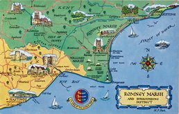 Romney Marsh Postcard