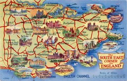 S.E.England Postcard