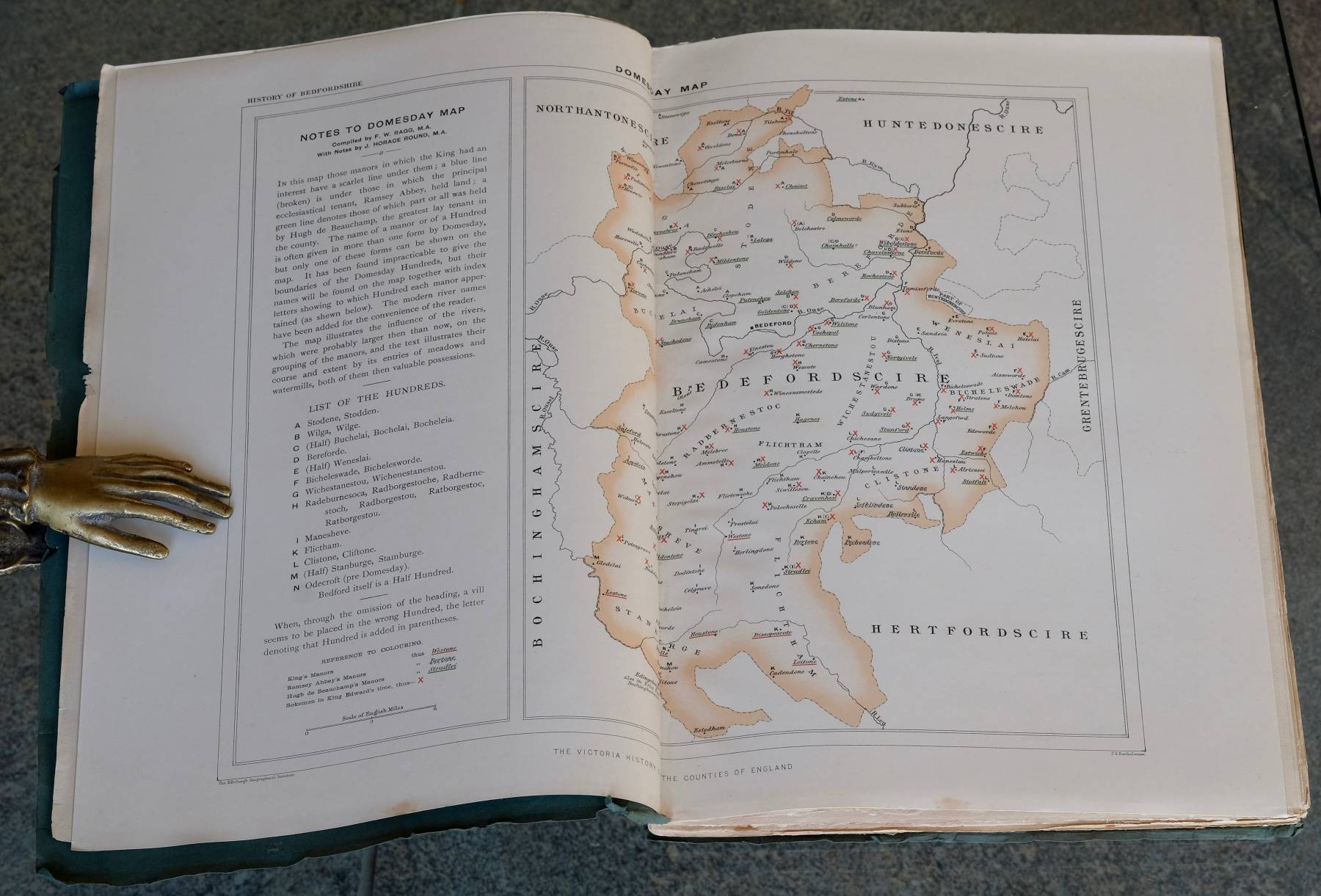 Bedfordshire Domesday Survey
