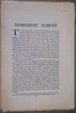 Domesday Survey Nottinghamshire