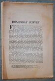 Northamptonshire Domesday Survey