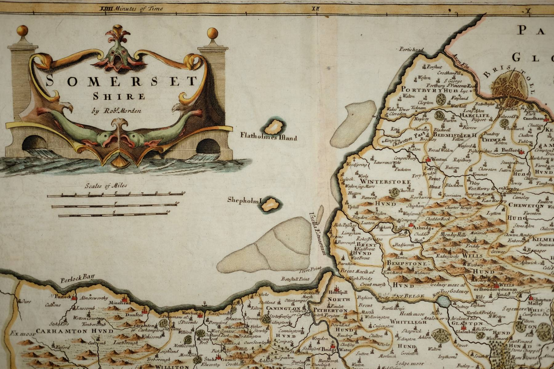 Somerset Antique Maps Old Maps Of Somerset Vintage Maps Of - Vintage maps uk