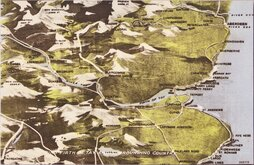 Firth of Tay Map Postcard