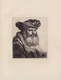 Man with a Square Beard by Rembrandt