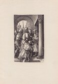 Christ before Pilate by Durer