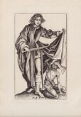 St Martin and the Beggar by Schongauer
