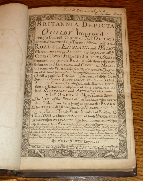 Britannia Depicta or Ogilby Improv'd...