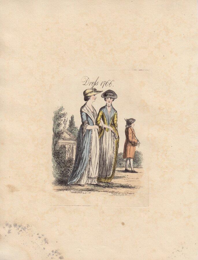 Dress in 1766
