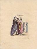 Dress in 1785