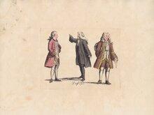 Dress in 1745
