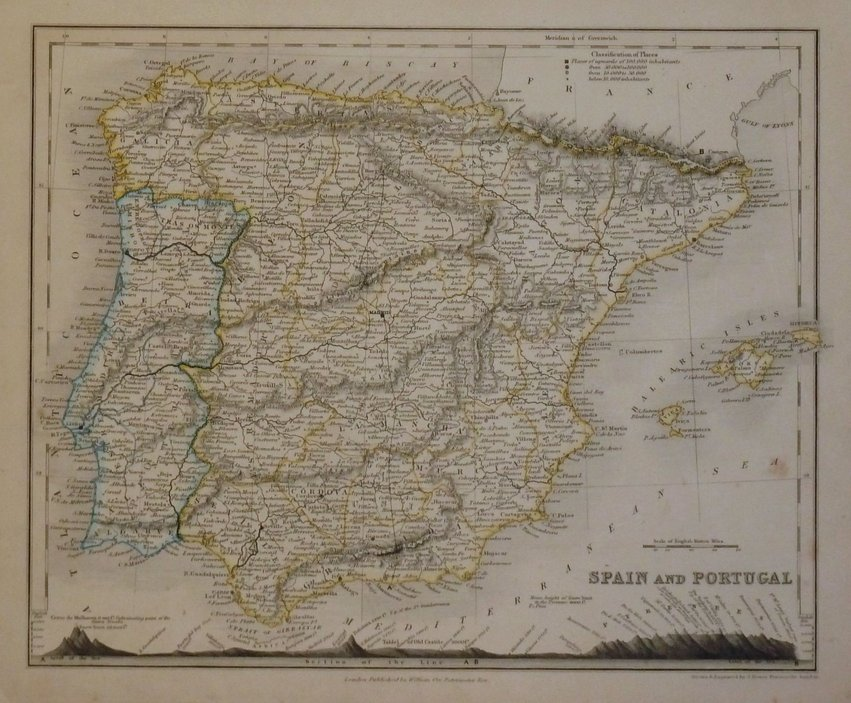 Spain & Portugal. John Dower
