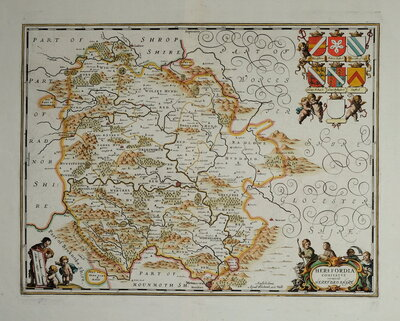 Herefordshire Maps