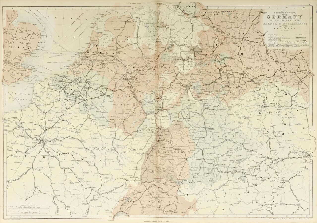 Central Europe by Hughes