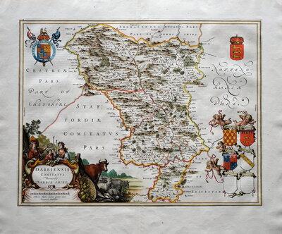 Derbyshire Maps
