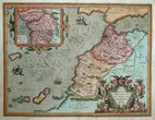 North West Africa by Ortelius
