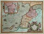 North West Africa by Ortelius